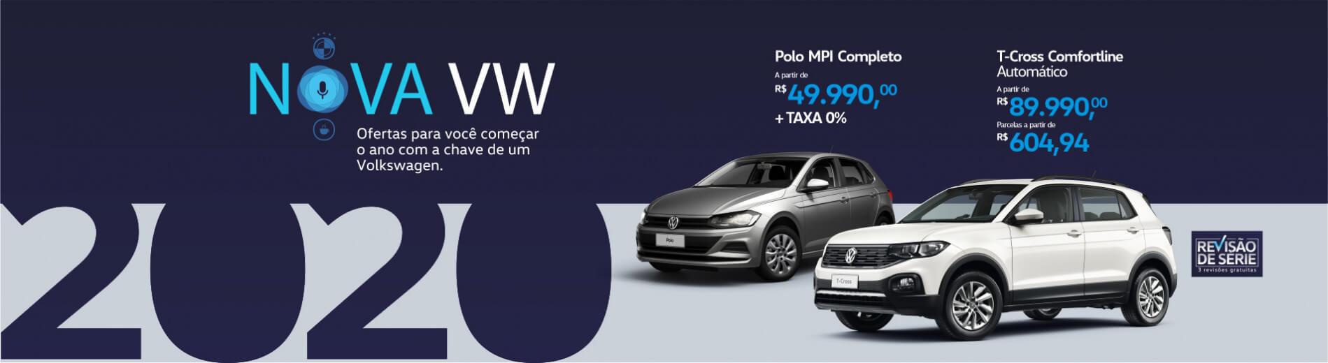 2020 Nova Volkswagen!
